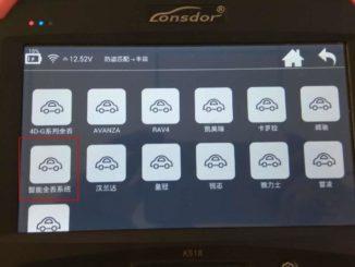 Lonsdor K518 Emulator Key Binding Guide-2