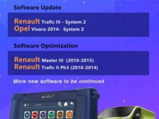Opel Software Update